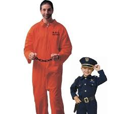Halloween Inmate Costume Father Son Inmate Costumes Halloween