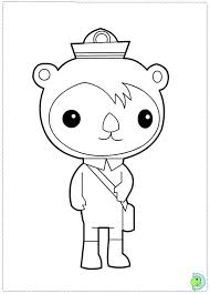 Octonauts Coloring Page Dinokids Org Octonauts Coloring Pages
