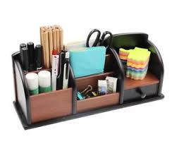 Office Desk Organizer by Wood Desk Organizer Ebay
