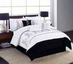 stylish and peaceful white comforter with black trim 22 trim gray prissy inspiration white comforter with black trim and bedding ease with style