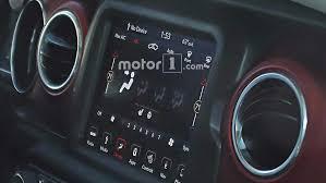 2018 jeep wrangler interior fully revealed 2018 jeep wrangler s interior fully revealed in new spy photos