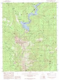 Map Ca Mammoth Pool Dam Topographic Map Ca Usgs Topo Quad 37119c3