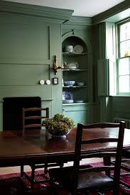 Green Dining Room Dining Room Inspiration Farrow