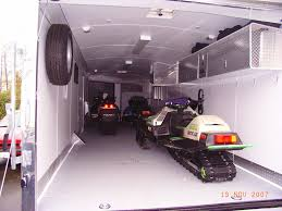 V Nose Enclosed Trailer Cabinets by Enclosed Snowmobile Trailer Cabinets Google Search Cargo