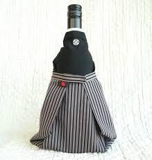 Good Wine For Gift Samurai Japan Bottle Cover Japanese Culture For Sake Wine For Gift