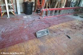 hardwood floor restoration preps reshaping our footprint