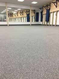 you can use recycled rubber to this rubber flooring which