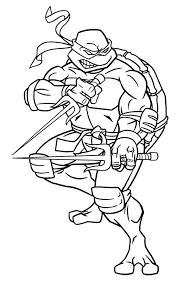 coloring pages teenage mutant ninja turtle