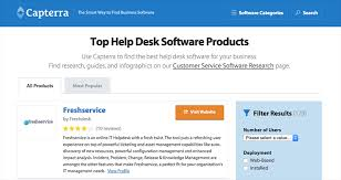 Help Desk Software Reviews by Best B2b And Saas Review Platforms To List Your Software