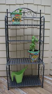 Decorating A Bakers Rack Bakers Rack Ideas This Makes That