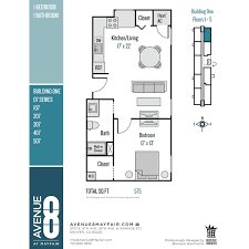 floor plans avenue 8 at mayfair apartments in denver co