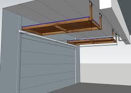 above garage door storage project diy album on imgur