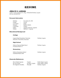 how to format resume how to format references on a resume how to format references on