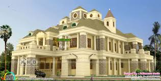 colonial home designs luxury colonial home 790 square meter kerala home design