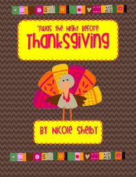 twas the before thanksgiving unit by shelby tpt
