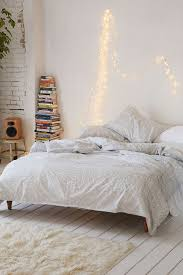 Bedroom Light Decorations Bohemian Bedroom With String Light Decorations