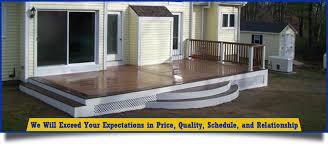 composite deck builder deck builder deck contractor worcester