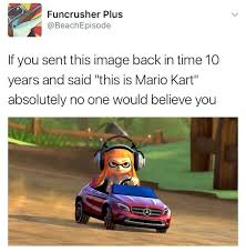 Your Meme - we are steadily moving further as a gaming species mario kart