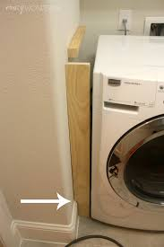 Washer Dryer Enclosure Diy Built In Washer Dryer Crazy Wonderful