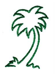 palm outline embroidery designs machine embroidery designs at