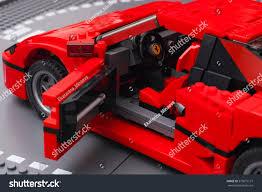 ferrari lego f40 tambov russian federation january 03 2016 stock photo 373875127