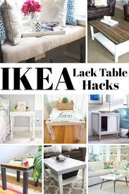 diy hacks home 20 diy ikea lack table hacks home decor design