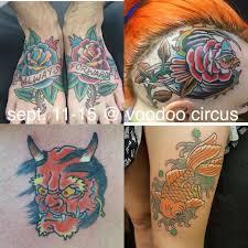 voodoo circus tattoo home facebook