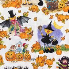 halloween 100 cotton prints