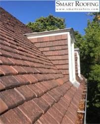 Terracotta Tile Roof Smart Roofing Inc Replaces 90 Year Old Lake Forest Ludowici Clay