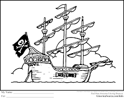 great pirate coloring pages by pirate coloring pages for