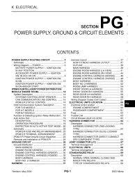 nissan altima 2005 camshaft sensor 2003 nissan altima 2 5 serivce manual pg fuse electrical