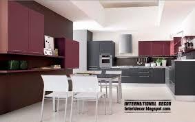Contemporary Kitchen Design 2014 Purple Kitchen Interior Design And Contemporary Kitchen Design 2014