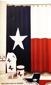 amazon com texas flag lone star fabric shower curtain home kitchen