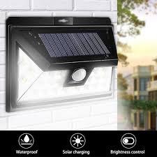 Solar Lights Outdoor Garden Litom Bright 24led Outdoor Motion Sensor Solar Lights With