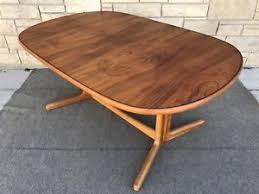 Rosewood Dining Room by Mid Century Danish Modern D Scan Teak U0026 Rosewood Dining Table Ebay