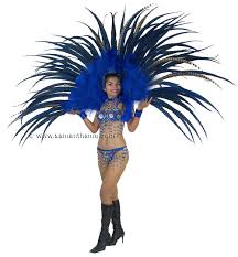las vegas costumes stc2020 full las vegas showgirl feather back harness costume