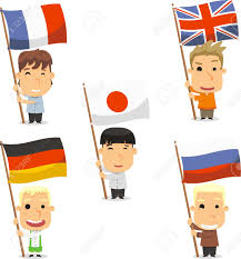 England Flag Jpg Standard Bearer Kids With England Flag France Flag Japan Flag