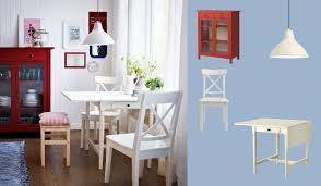 solid wood drop leaf table and chairs ingatorp white drop leaf table seats 2 4 with ingolf white chairs