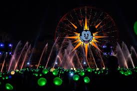 glow show glow with the show disneyland resort mickey