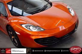 orange mclaren 12c mclaren mp4 12c