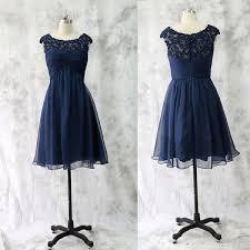 navy blue bridesmaid dress lace bridesmaid dress bridesmaid gown navy blue bridesmaid
