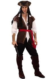 caribbean attire pirate caribbean costume mens fancy dress