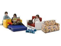 divanetto bambini divano letto per bambini rivestito in similpelle o stoffa per