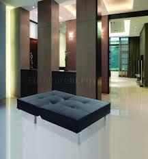 fabric modern chair bed convertible w metal legs
