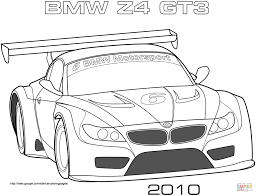 bmw racing car coloring page free printable coloring pages