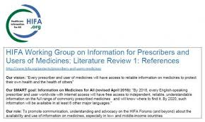 prescribers and users of medicines hifa org