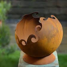 Garden Sphere Balls Buy Rusty Garden Sphere U2014 The Worm That Turned Revitalising Your