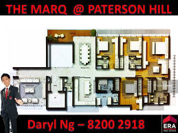 the marq floor plan the marq on paterson hill 8 paterson hill 4 bedrooms 3089 sqft