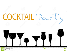 cocktail party stock vector image 81848571
