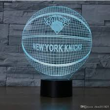2017 knicks basketball night light baby led lights table lamps for